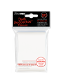 Ultra pro : Deck protector 50 sleeves dos blanc