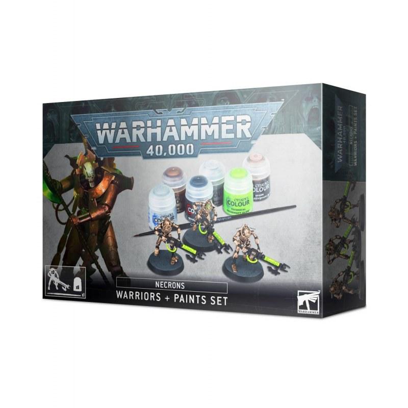 Warhammer 40000: Guerriers Necrons + Paint Set
