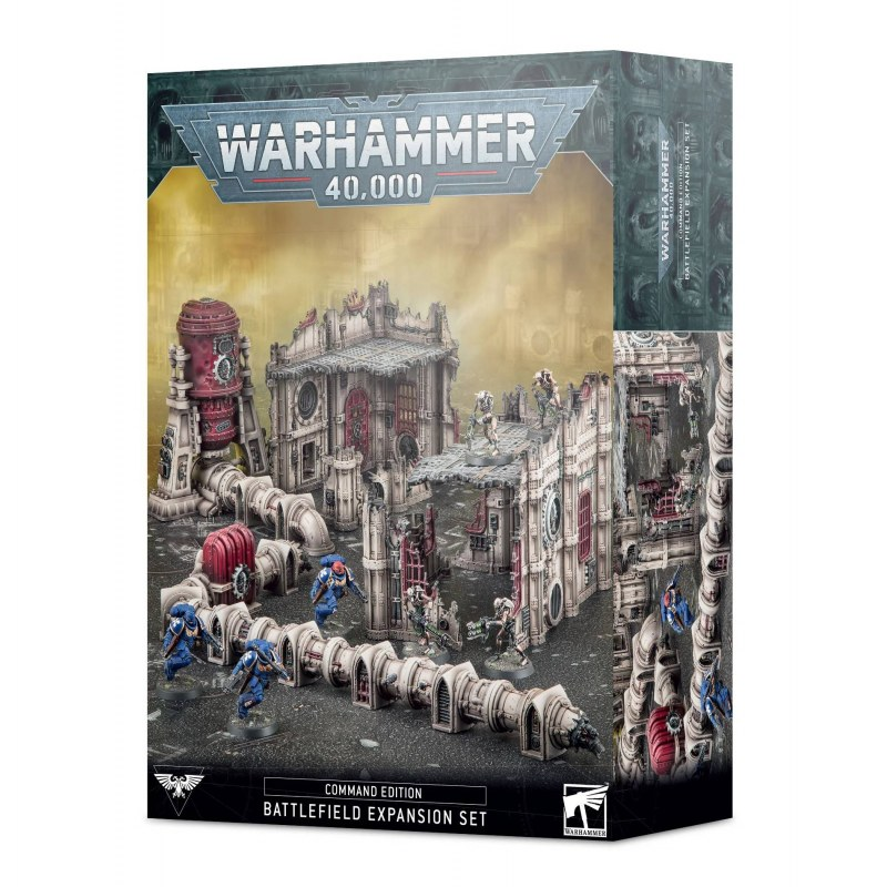 Warhammer 40000 : Édition État-major: set d'extension de champ de bataille