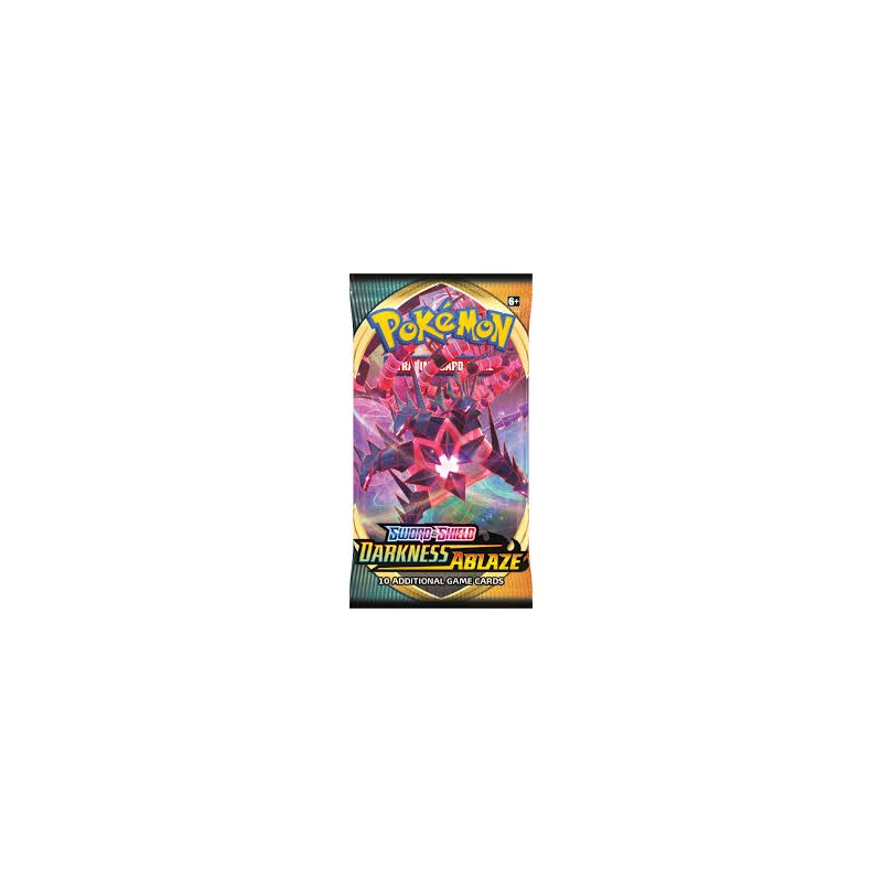 Booster Pokemon Darkness Ablaze