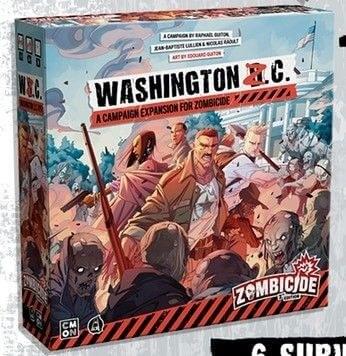 Zombicide : 2e edition Washington Z.C. (en)