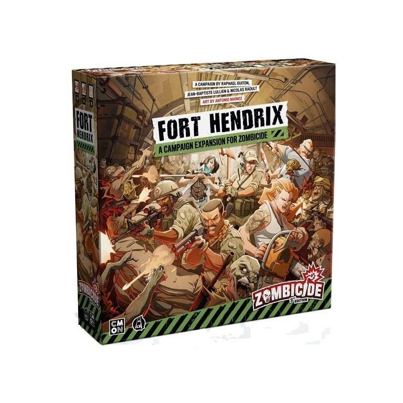 Zombicide 2ND Edition: Fort Hendrix jeu