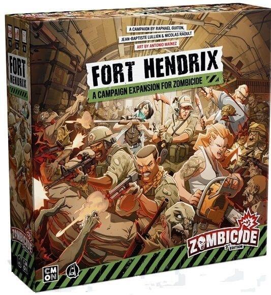 Zombicide 2ND Edition: Fort Hendrix (en)