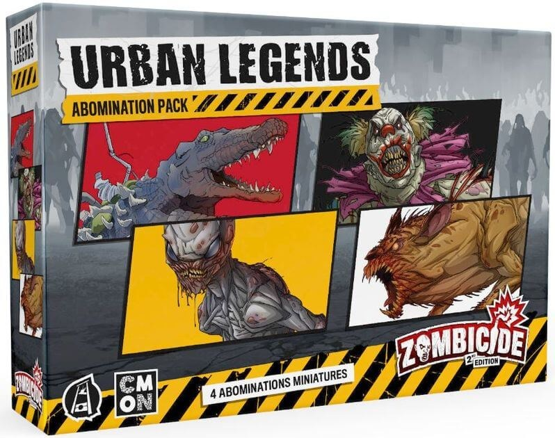 Zombicide 2ND Edition: Urban Legends Abomination Pack