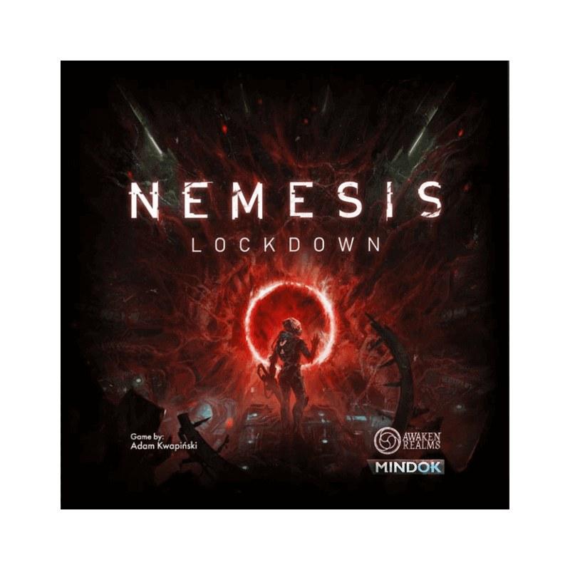 Nemesis: Lockdown boardgame