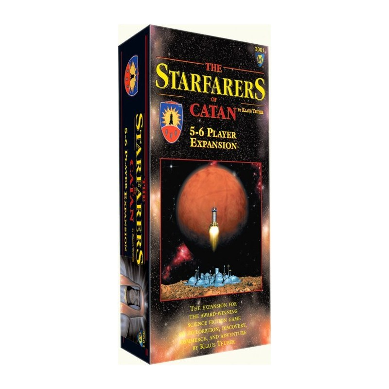 Catan - Starfarers: 5-6 Players  jeu