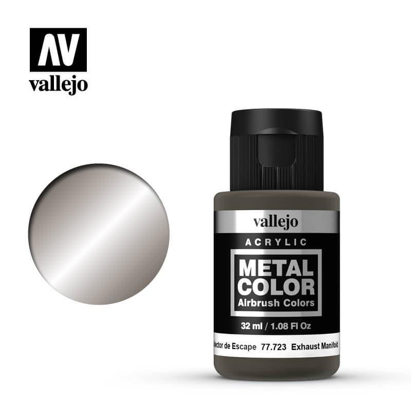 Vallejo: Metal Color Exhaust Manifold