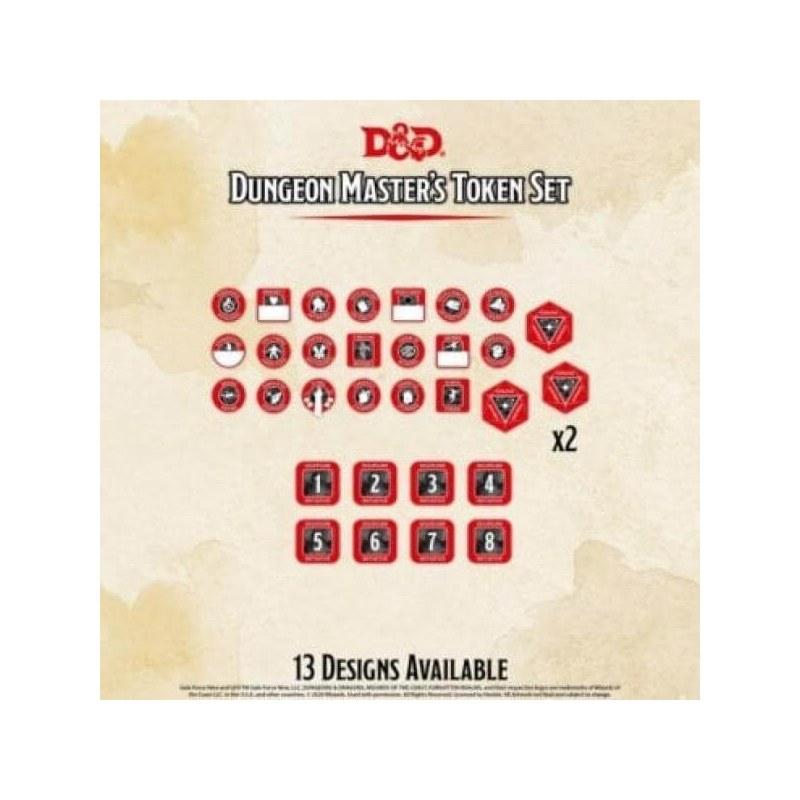 Dungeons & Dragons: Dungeon Master Token Set (28 tokens)