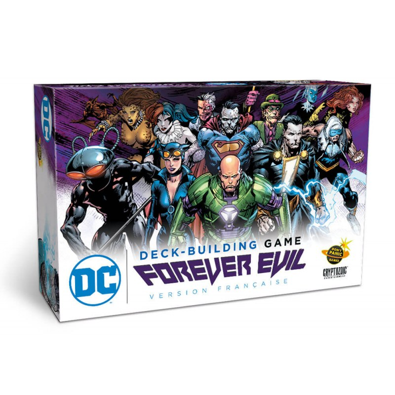 DC Comics Deck Building Games VF - Forever Evil jeu