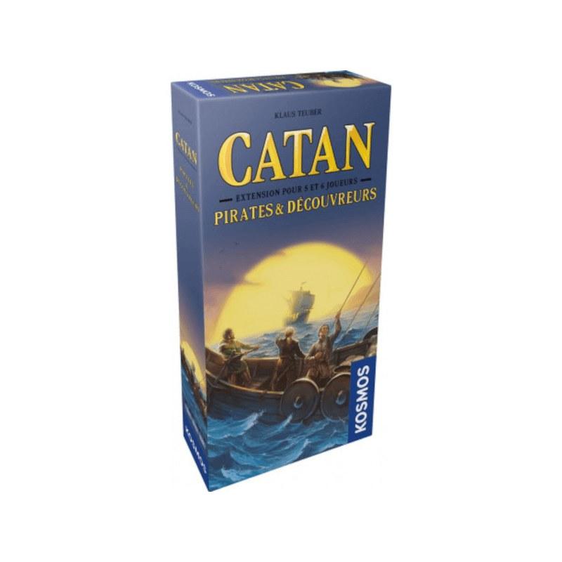 Catan Extension: Pirates et Decouvreurs 5-6 Joueurs