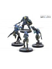 Infinity: O-12 Nyoka Assault Troops figurine