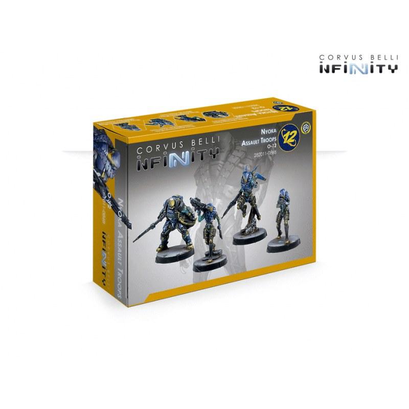 Infinity: O-12 Nyoka Assault Troops boite