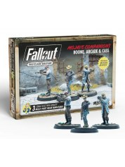 Fallout Wasteland Warfare: Boone Arcade And Cass