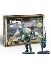 Fallout Wasteland Warfare: Super Mutants Marcus/Lily