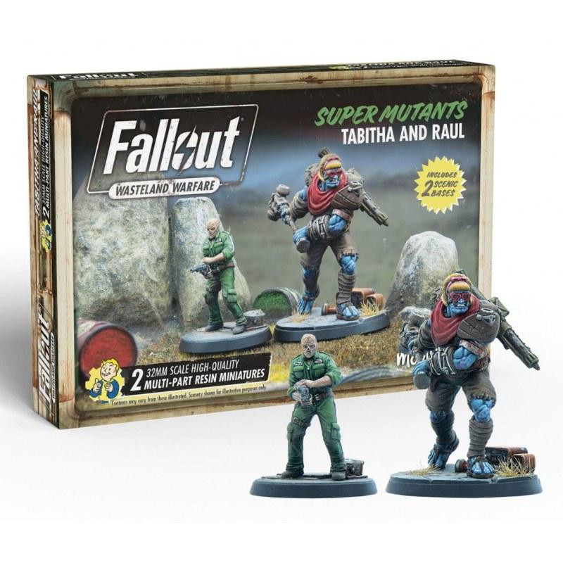 Fallout Wasteland Warfare: Super Mutant Tabitha/Raul