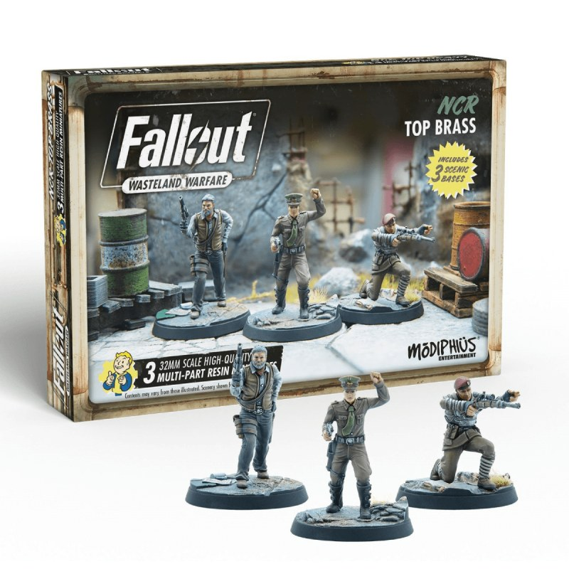 Fallout Wasteland Warfare: NCR Top Brass