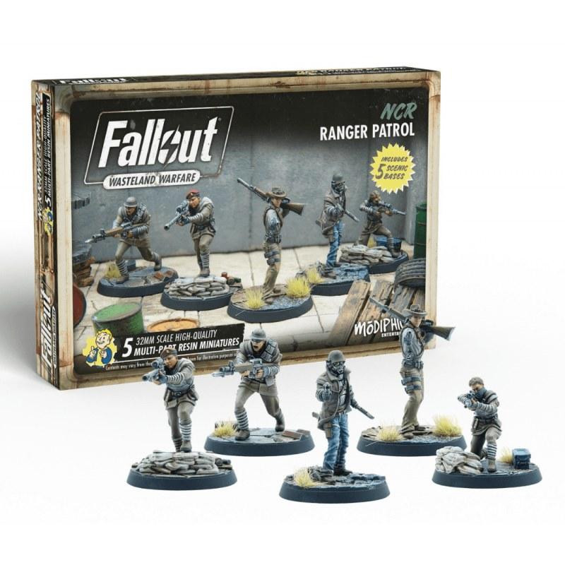 Fallout Wasteland Warfare: NCR Range Patrol