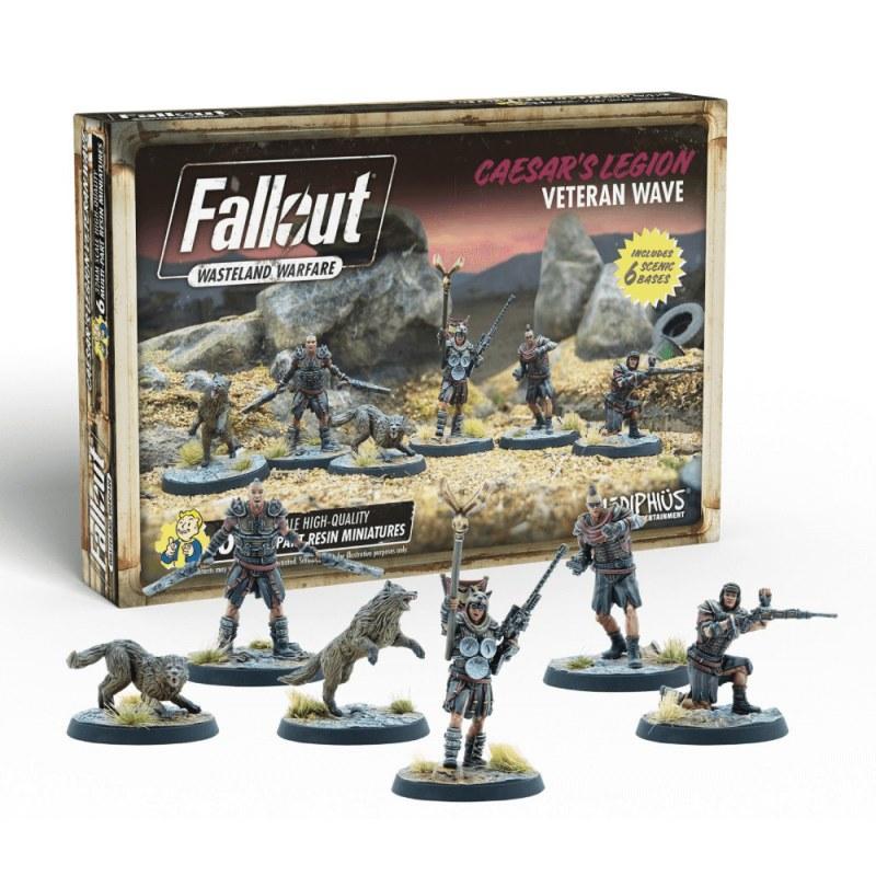 Fallout Wasteland Warfare: Caesar's Leg Veteran
