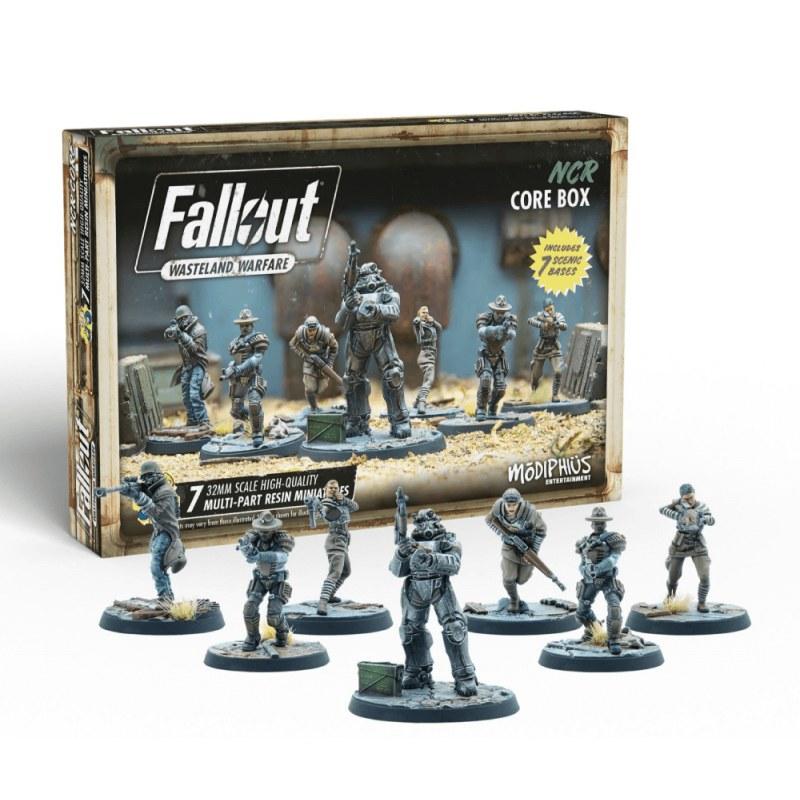 Fallout Wasteland Warfare: NCR Core Box