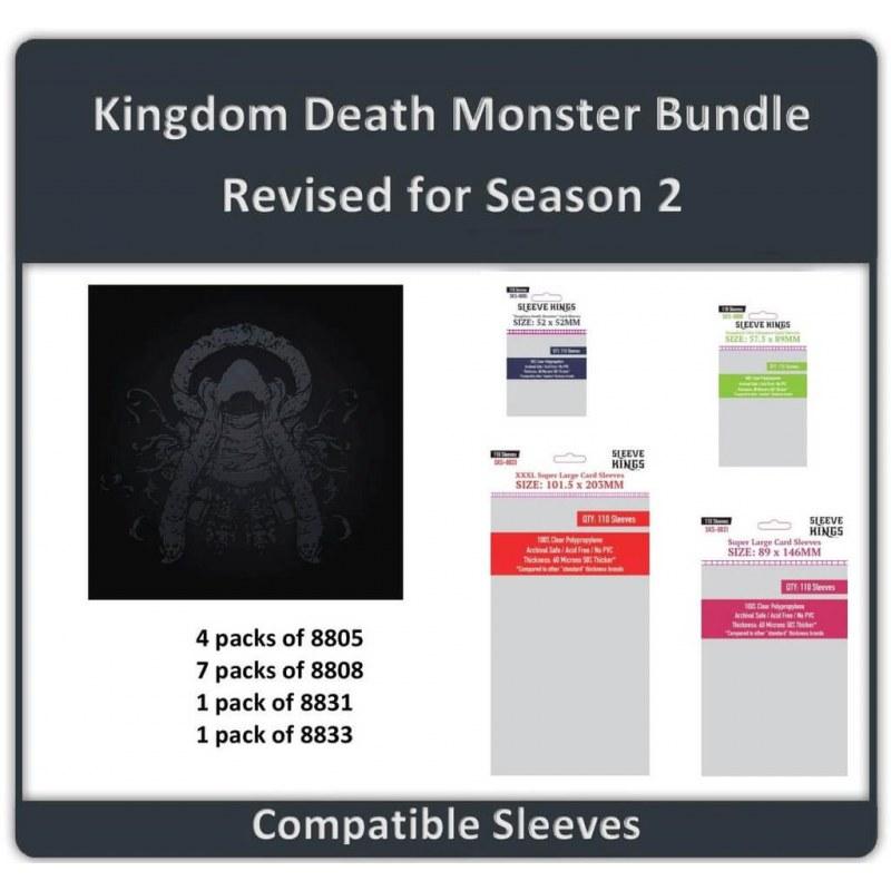 Sleeve Bundle Kingdom Death Monster Wave 1.5