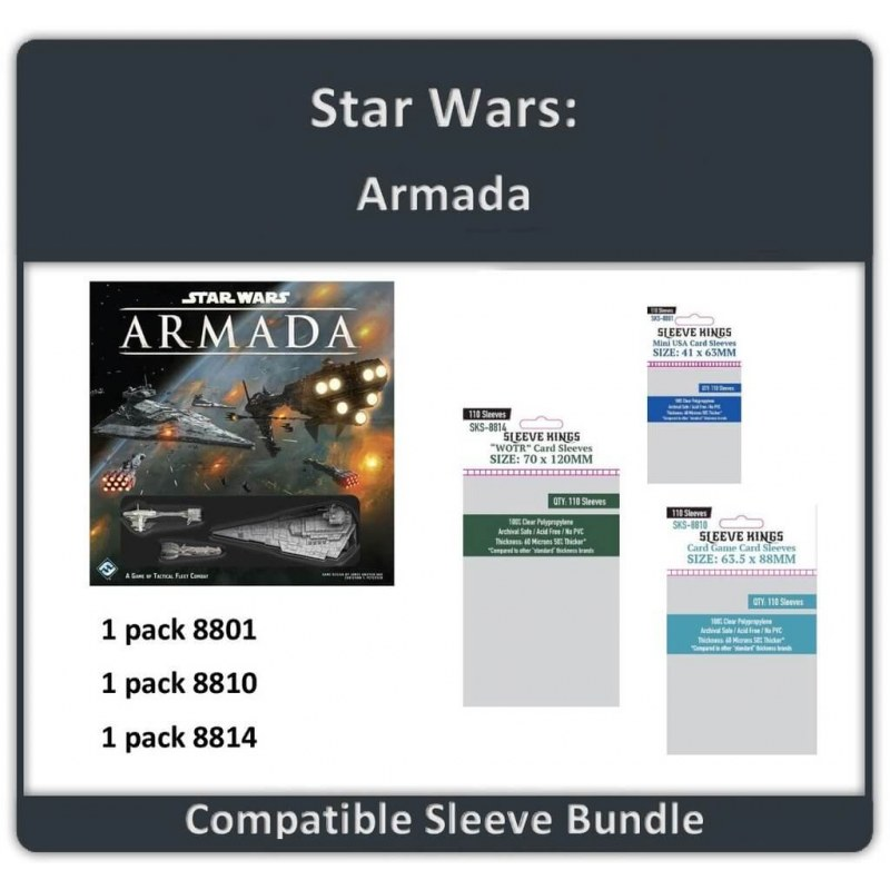 Sleeve Bundle Star Wars: Armada