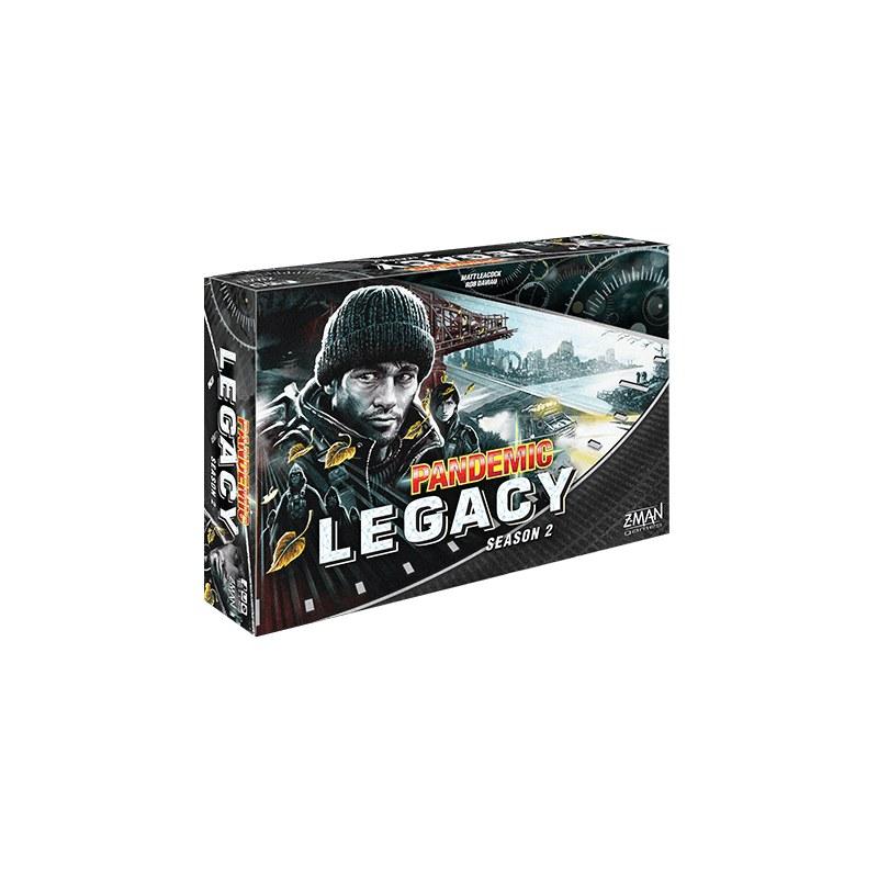 Pandemic Legacy - Saison 2 Noir jeu