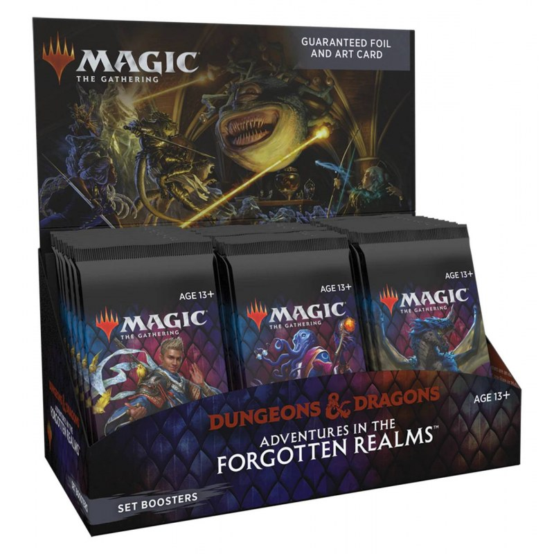 MTG Adventures In The Forgotten Realms Set Booster Box