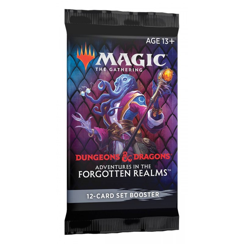 MTG Adventures In The Forgotten Realms Set Booster