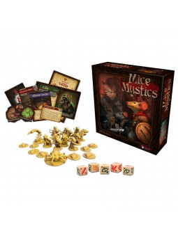 Mice and Mystics jeu avec figurines