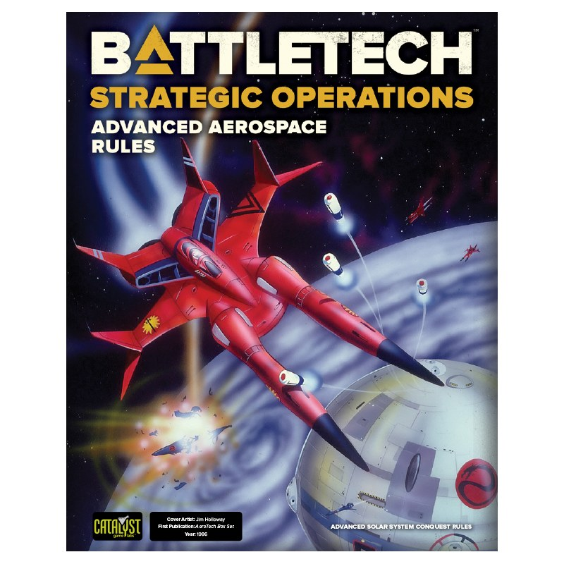 BattleTech strategic operations: Advanced aerospace rules