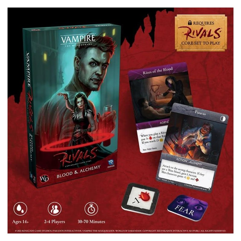 Vampire The Masquerade Rivals Blood And Alchemy