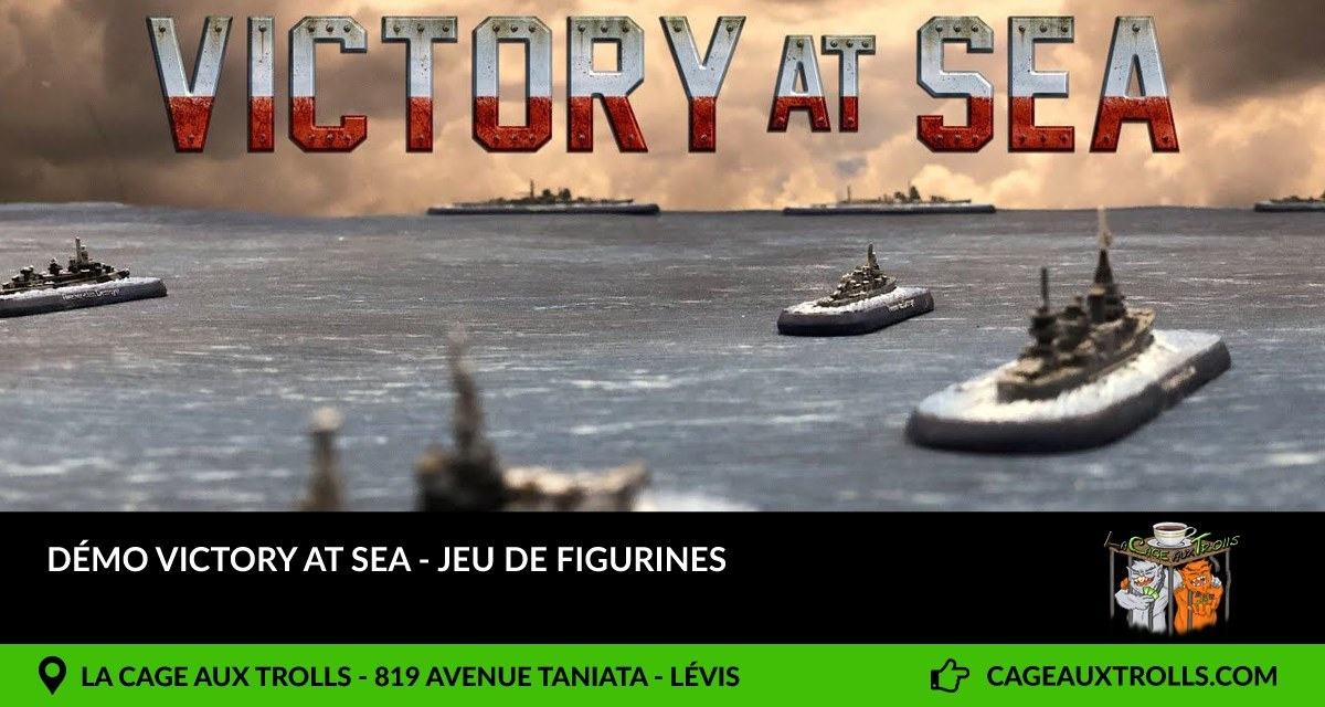 Démo Victory at sea - 4/07/2021