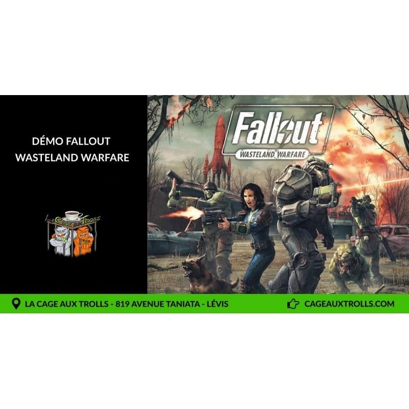 Démo Fallout wastland warfare - 18/07/2021