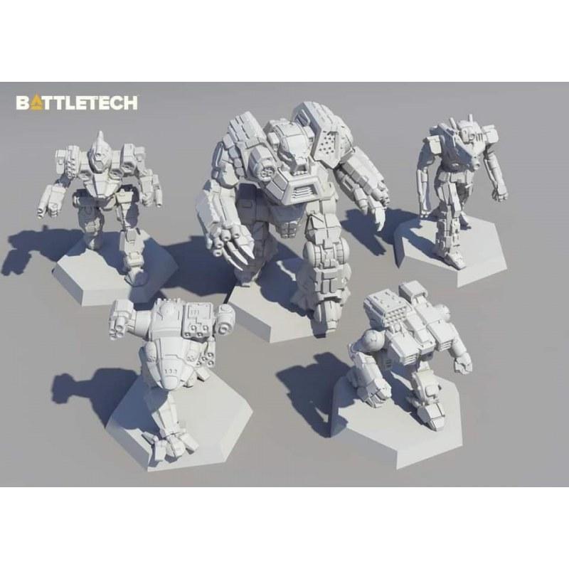 Battletech Clan Ad Hoc Star