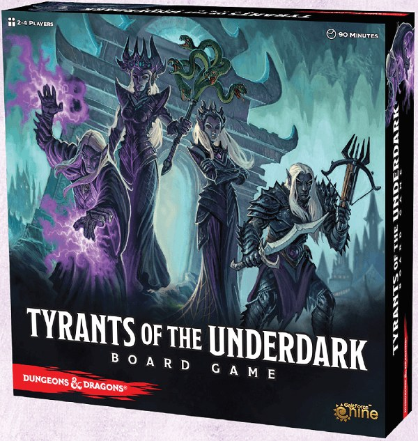 DND Tyrants of the Underdark Board Game