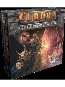 jeu clank Les Aventuriers du Deck-building