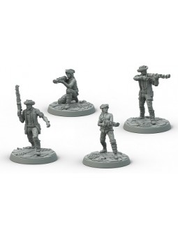 Fallout wasteland warfare Survivants  Détahement minutemen