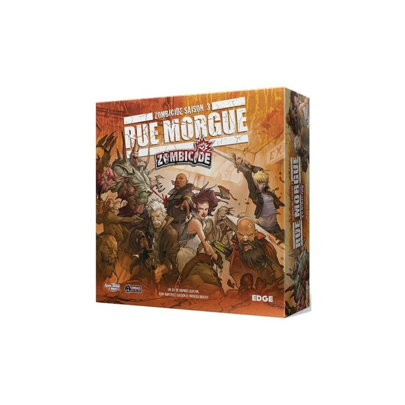 jeu de base Zombicide Saison 3 Rue Morgue