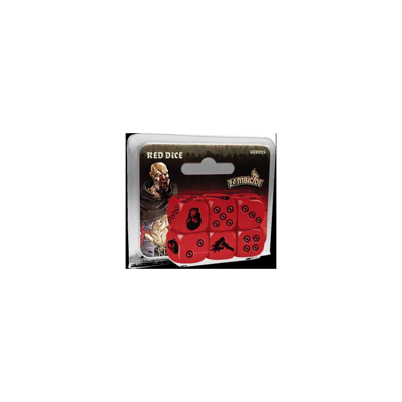 Zombicide: Black Plague - Red Dice
