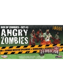 Zombicide: Zombies Pas Contents angry