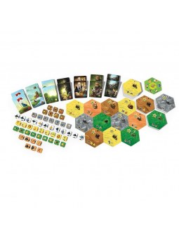 Dice Settlers tuiles