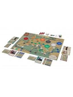 Pandemic La Chute de Rome Plateau de jeu