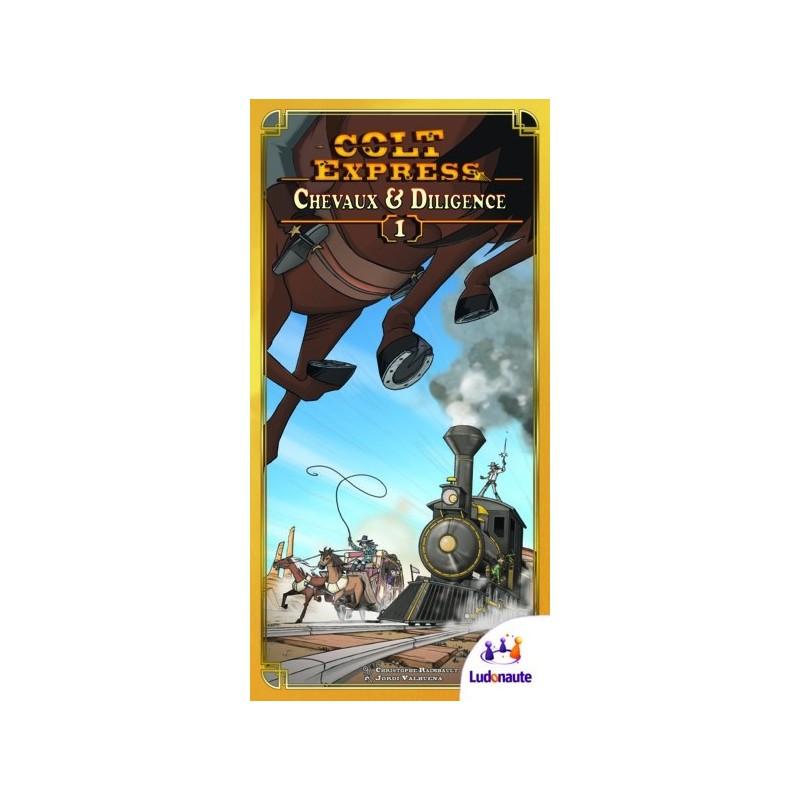 Colt Express - Chevaux et Diligence jeu