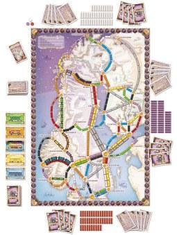 Les Aventuriers du Rail Scandinavie carte