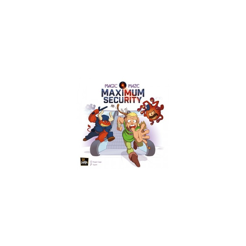 Magic Maze: Maximum Security jeu