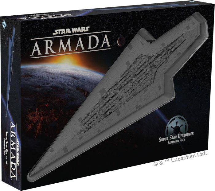Star Wars Armada : Super star destroyer