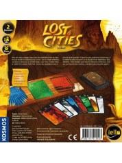 Lost cities le duel boite de jeu