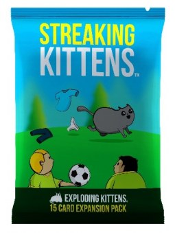 Exploding kittens : Extension - Streaking Kittens