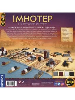 IMHOTEP : Bâtisseurs d'Égypte (FR) boite de jeu