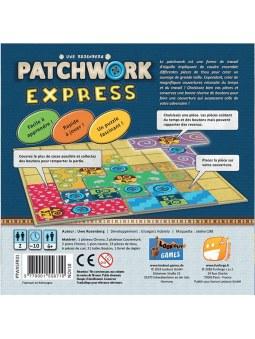 Patchwork express boite de jeu